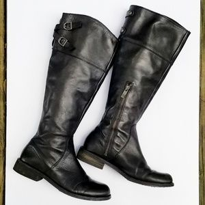 "Vince Camuto black riding boots sz. 7 ""Keaton"""